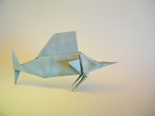 Origami Sailfish by Matsuno Yukihiko on giladorigami.com