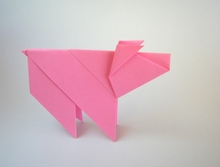 Origami Pig by David Mitchell on giladorigami.com
