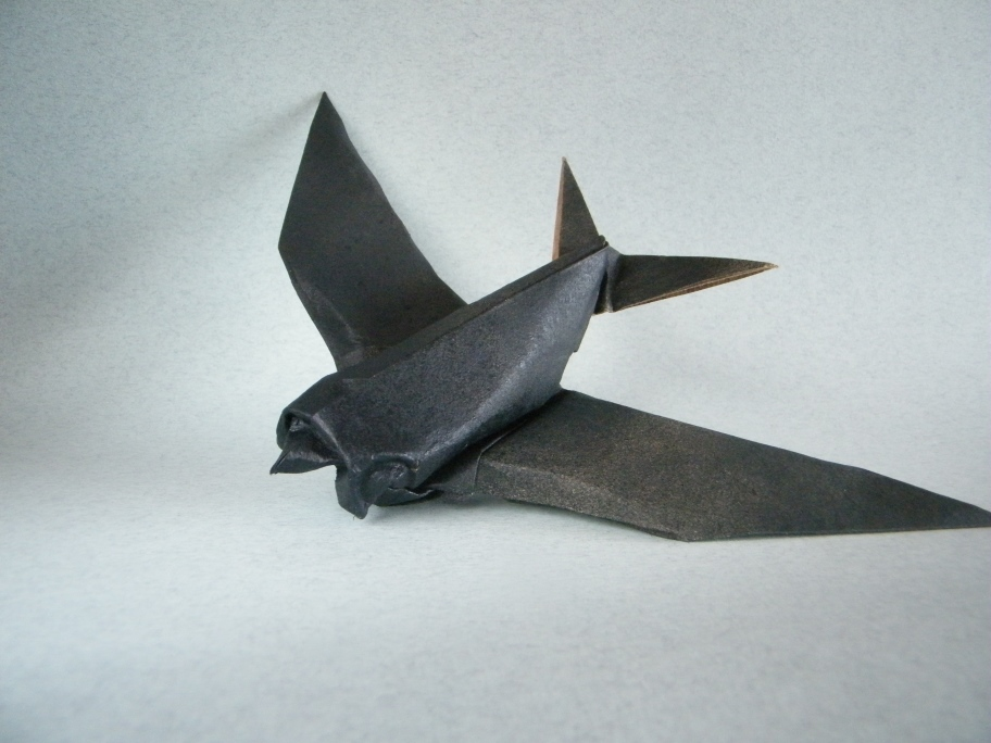 Origami Swallow by Angel Morollon Guallar on giladorigami.com
