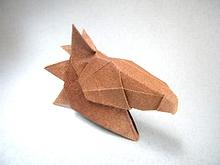Origami Horse Head By Daniel F Naranjo V On Giladorigami