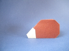 Origami Hedgehog by Tony O