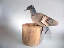 Origami Pigeon by Richard Ojeda Soto on giladorigami.com