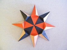 Go Origami - Kalami Star, variations (origami design by... | Facebook | 165x220