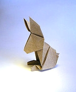 Origami Rabbit by Didier Piguel on giladorigami.com