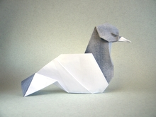 Origami Dove by Hoang Tien Quyet on giladorigami.com