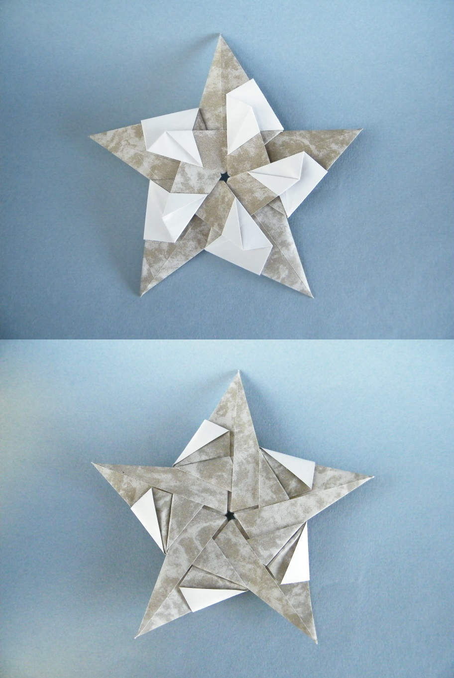 Origami Tommelise star by Natalia Romanenko on giladorigami.com