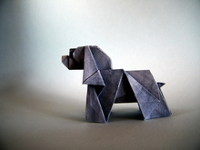 Origami Dog by Seo Won Seon (Redpaper) on giladorigami.com
