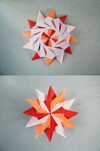 Origami, Fleurogami und Sterne AbOU : Robin Star by UR Fleurogami | 220x146