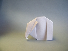 Origami Elephant by John Smith on giladorigami.com
