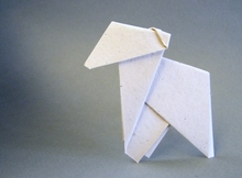 Origami Lamb by John Smith on giladorigami.com