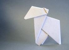 Origami Lamb By John Smith On Giladorigami