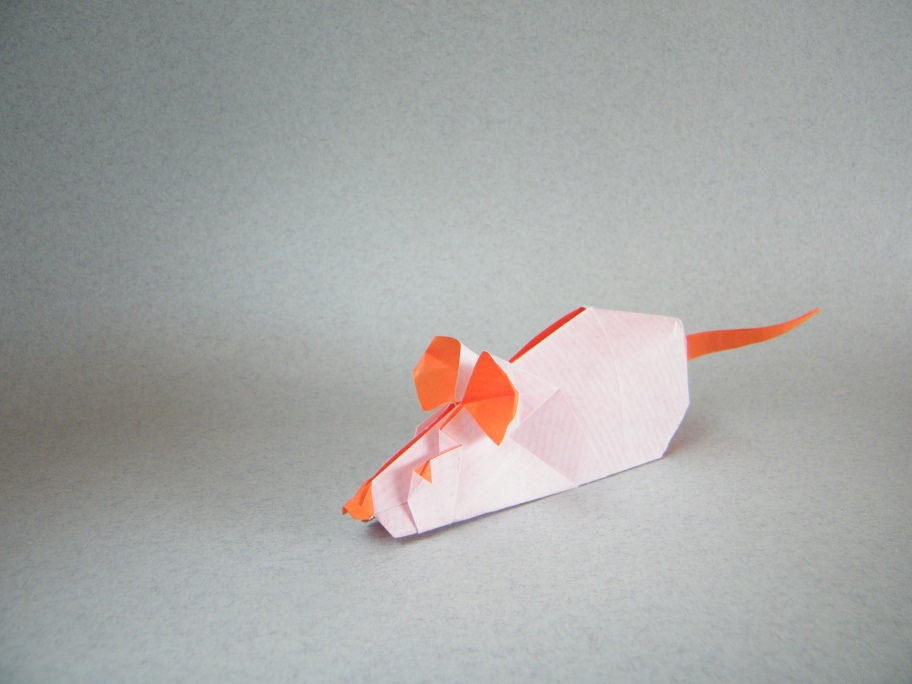 Origami Mouse by Sergio Spinolo on giladorigami.com