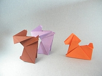 Origami Puppy by Nguyen Tu Tuan on giladorigami.com