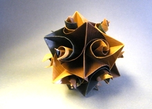 Origami Curler unit ball by Herman van Goubergen on giladorigami.com