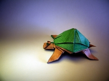 Origami Turtle by Marc Vigo Anglada on giladorigami.com