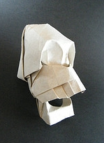 Origami Skull by Jose Anibal Voyer on giladorigami.com