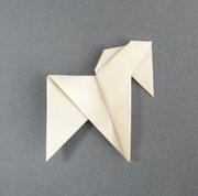 Origami Horse by Stephen Weiss on giladorigami.com