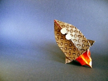 Origami Rocket by Yara Yagi on giladorigami.com