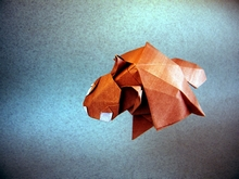 Origami Flying squirrel by Yamada Katsuhisa on giladorigami.com