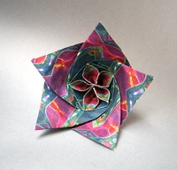 Origami Flower by Evan Zodl on giladorigami.com