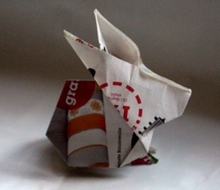 Origami Rabbit by Stephen O