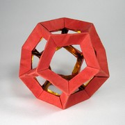 Origami 120 deg module by David Shall on giladorigami.com