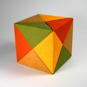 Origami Puzzle cube by David Shall on giladorigami.com