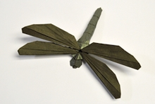 Origami Dragonfly by Shuki Kato on giladorigami.com