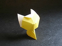 Origami Kitten by Andrey Ermakov on giladorigami.com