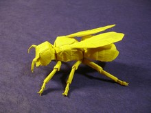 Origami Yellow Jacket by Robert J. Lang on giladorigami.com