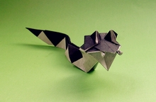 Origami Serpent by Christophe Boudias on giladorigami.com