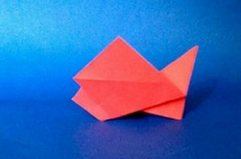 Origami Fish by Marc Kirschenbaum on giladorigami.com