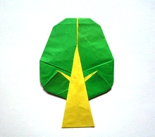 Origami Tree by Nguyen Hung Cuong on giladorigami.com