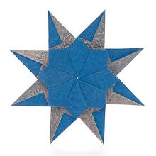 Robin Star by Maria Sinayskaya — Diagram | Origami weihnachten ... | 220x220