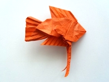 Origami Gourami by Robert J. Lang on giladorigami.com