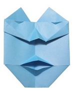 Origami Masked super-hero by Joel Stern on giladorigami.com