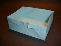 Origami Box by Traditional on giladorigami.com