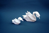 Origami Duck by Hoang Tien Quyet on giladorigami.com