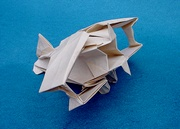 Origami Biplane by Robert J. Lang on giladorigami.com