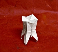 Origami Tooth by Marc Kirschenbaum on giladorigami.com