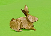 Origami Rabbit by Hsi-Min Tai on giladorigami.com
