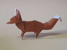 Origami Fox by John Szinger on giladorigami.com