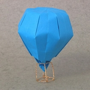 Origami Hot air balloon by John Szinger on giladorigami.com