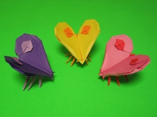 Origami Butterfly of Love by John Szinger on giladorigami.com