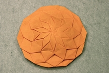 Origami Penflower tessellation by John Szinger on giladorigami.com
