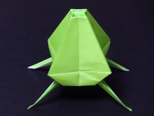 Origami Space pod by John Szinger on giladorigami.com