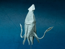 Origami Giant squid by John Szinger on giladorigami.com