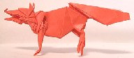 Origami Fox by John Montroll on giladorigami.com