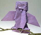Origami Owl by John Montroll on giladorigami.com