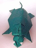 Origami Turtle by John Montroll on giladorigami.com